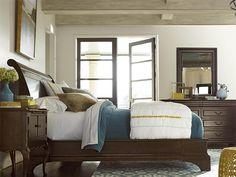 Sonoma Sleigh Bed (Queen)