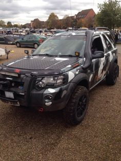 """""""THE NEMESIS"""" owned by my good friend Simon Freelander 2, Land Rover Freelander, Suzuki Cars, Off Roaders, Snorkelling, Land Rover Defender, Range Rover, Toys For Boys, Cars And Motorcycles"""