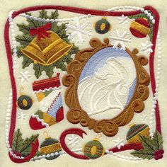 crazy quilts ribbon pearls   Machine Embroidery Designs at Embroidery Library! - New This Week