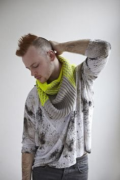 Safety Scarf by Stephen West, Ravelry pattern,