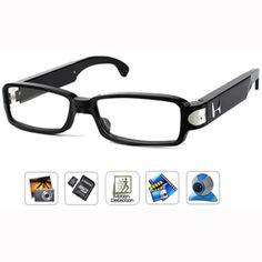 Caméra cachée couleur avec DVR dans une lunette - 1.3 mégapixels - Angle de vue 60° - Jusqu'à 8 Go