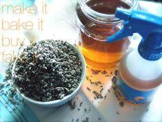 Gee, your hair smells Lavender-ific....  Home made Curl-Reviving Lavender Spray