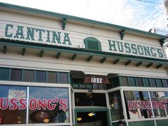 Cantina Hussongs in Ensenada, Mexico - http://ourtravelingblog.com/2015/05/29/our-laid-back-weekend-in-ensenada-mexico/