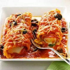from key ingredient pizza syle manicotti pizza syle manicotti recipe ...