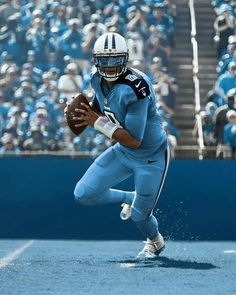 Marcus Mariota Color Rush Titans uniforms