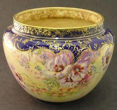 Royal Bonn porcelain jardiniere