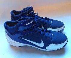 8eebed78adda5 Nike Air Huarache 2K Fresh Metal béisbol Softbol las calas 467796-411 Talla  12