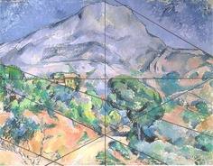 Cezanne...composition & balance