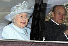 Queen Elizabeth II - Queen Elizabeth II Attends The Easter Day Service At Windsor Castle