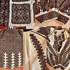 Folk Embroidery, Boho Shorts, Cross Stitch Patterns, Costume, Blouse, Fashion, Moda, Fashion Styles, Costumes