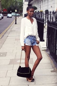 short  #summer #spring #fashion #look #style #trend #colorful