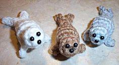Baby Seal Crochet Pattern