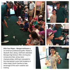 First Tee: Golf Clinic with Golf Pro: Morgan Hoffman