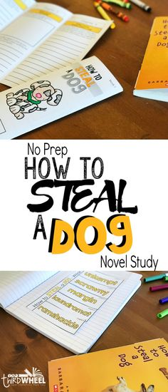 Looking for a fun, low prep way to engage your students in How to Steal a Dog by Haley O'Conner? These trifolds will build key comprehension skills without overwhelming your kids. Perfect for home school, literature circles, novel studies, or book clubs. The novel study unit is full of great activities and thought provoking questions that move your students beyond just answering the list of comprehension questions or taking a quiz.