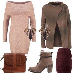 Outfit Colori caldi in inverno