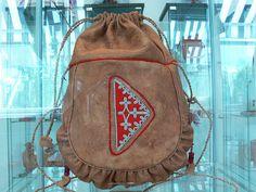 Saami reindeer skin bag