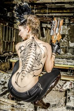 Awesome Steampunk Tattoo