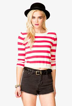 Sea Bound Striped Sweater | FOREVER21 - 2041265121