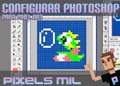 Configurar Photoshop para Pixel Art: Tutorial