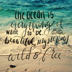 quote of the day....ocean therapy!!☀ - Tap the link to see the newly released collections for amazing beach bikinis & Jewelry! :D