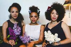 The Floral Afro Is The Perfect Summer Wedding Style