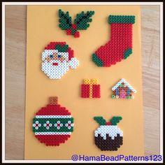 Hama bead Christmas items by HamaBeadPatterns123