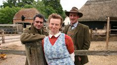 Wartime Farm.  (Fantastic British t.v. history.  Not whiney and complaining like other back-in-time documentaries.  Each of these three participants are historians and LOVE what they are doing.  No drama--just good attitudes and cheerful learning.  Excellent and highly recommended.