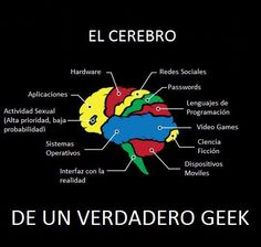 El cerebro de un geek via isopixel en facebook