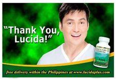 "Lucida-DS Plus Glutathione Model Gabby Concepcion says ""Thank you, Lucida!"""