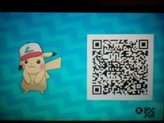 MY FRIEND GOT ME THIS AWESOME PIKACHU FROM A KYRONIK STREAM!!! HE HAS THE HAT, GUYS!!! SCAN THIS WITH ALL YOUR HEART OR SOMETHING!!!