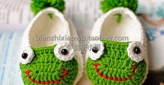 Patrones de pantuflas para bebé paso  a paso