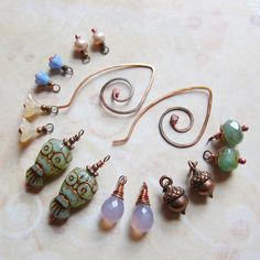 Sihaya Designs Earring Wardrobe - Whoo Are You II - Mix and Match - SevenCharm Set.  Such lovely jewelry!