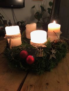 Christmas Wreaths, Table Decorations, Holiday Decor, Furniture, Home Decor, Love, Decoration Home, Room Decor, Home Furniture