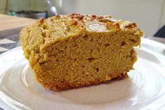Coconut Flour Pumpkin Bread/Cake - Gluten Free Sugar free and OK for Candida diet | Health Move