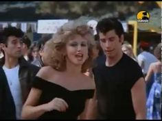 """JOHN TRAVOLTA & OLIVIA NEWTON JOHN / YOU'RE THE ONE THAT I WANT [from GREASE] (1978) -- Check out the """"Super Sensational 70s!! (part 2)"""" YouTube Playlist --> http://www.youtube.com/playlist?list=PLObUjr5lC761D9Fi9yH-NtEsx9RYxuBnR #1970s #70s"""