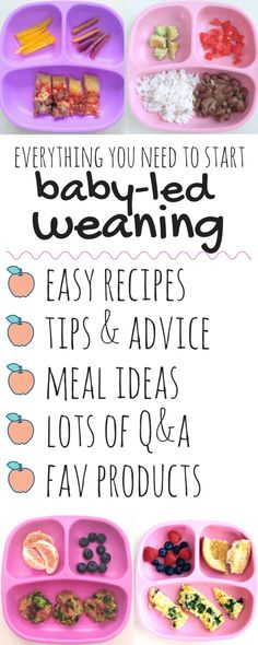 Best Foods for Baby-Led Weaning - Because I Said So Baby