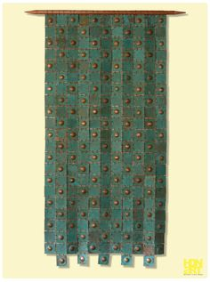 "MEDITERRANEAN TURTLE | blue patina on hammered #copper | 120 x 73 cm | 47"" x 29""  | Private Collection, Antony, #France | #tapestry #metalart #wallhanging #interiordesign #contemporaryart #decor #interior #bluepatina #art #sculptureart"