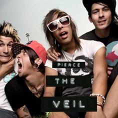 Band called Peirce the Veil! love them!