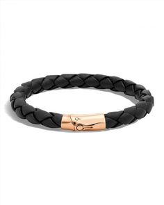 275.00$  Watch now - http://vioty.justgood.pw/vig/item.php?t=ozqrpif1783 - John Hardy Men's Bamboo Bronze Station Bracelet on Woven Black Leather 275.00$