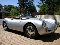 Porsche 550 Spyder • 1955/56