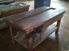 Have just punched this for the living room and am hoping it will make a great TV stand. TIMBER WOODWORK BENCH VINTAGE