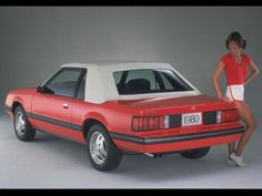1980 Ford Mustang.  It's when I first realized I wanted to own a Mustang.