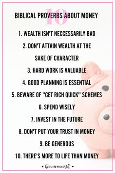 Proverbs | Biblical advice | Personal Finances | Financial Wisdom | Money | Money saving ideas | Financial help | Devotions | Making Money online | Money tips | Advice