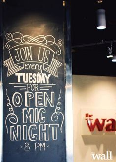 Open Mic every Tuesday @ 8pm! We love hearing all you talented people perform! See you soon. #BYU #Provo