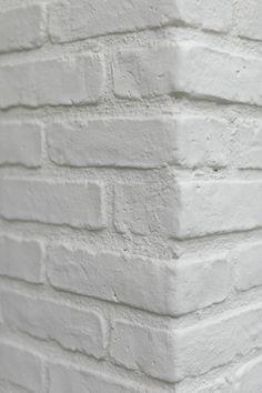 1000 images about painted white brick on pinterest painted bricks bricks and white bricks - White exterior masonry paint image ...