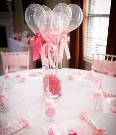 Confetti Filled Mini Balloons Party Ideas Festa Decora Atilde Sect Atilde Pound O Shower Party, Baby Shower Parties, Baby Shower Themes, Baby Shower Decorations, Bridal Shower, Shower Ideas, Balloon Centerpieces, Shower Centerpieces, Balloon Decorations