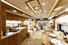 Awesome 202 Modern Interior Ideas for RV Camper https://modernhousemagz.com/202-modern-interior-ideas-for-rv-camper/