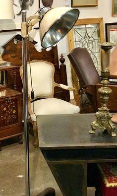 "1940's Castle Lights Floor Lamp  64"" Tall   $695  Dealer #318  LOST . .again Antiques & Decor 148 Riveredge Dallas, TX 75207"