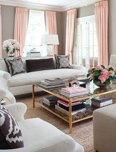 gardinen wohnzimmergestaltung stylisch tipps seide