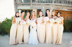 butter yellow dresses   Erika Delgado #wedding